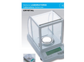 Crystal - Model 100 CAL CE - Magnetic Compensation Analytical Balances Brochure