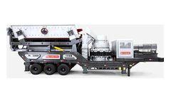 Sinonine - Model YG1142E710 - Mobile Crushing Plant