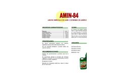 Model 84 - Proferfol Amin Fertilizer Brochure