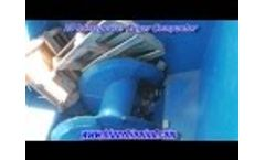 Blue Rhino Auger Wood Compactor Video