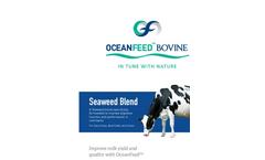 OceanFeed - Model Bovine - Seaweed Blend - Brochure