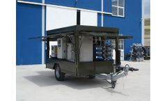 Model MWT2400 - Mobile Reverse Osmosis Water Purification System