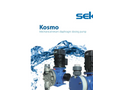 Kosmo - Model MM - Full Motion Electric Motor-Driven Pumps Brochure
