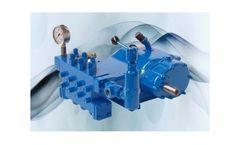 Rostor - Model 345 Series - High Pressure Pumps
