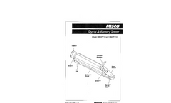 MISCO 7084VP & 7064VP Analog Refractometer Instruction Manual