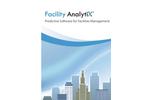 Facility AnalytiX - Facilities Management Predictive Software Brochure