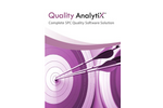Quality AnalytiX - Complete SPC Quality Software Brochure