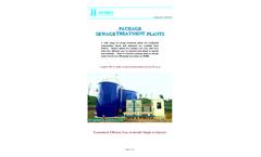 Hydrex - Package Sewage Treatment Plants - Brochure