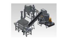 Heavy Duty Scrap Recycling Plant