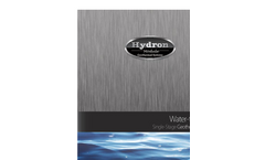 Revolution - Model WS0 - Single Stage Water-to-Water Geothermal System Brochure