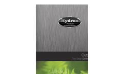 Revolution - Model RT - Two-Stage Outdoor Split Geothermal System Brochure