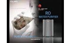 Won Red Dot award Olansi RO water purifier Video