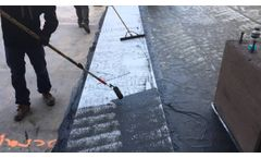 Hydralastic 836 Application with REINFORCING FABRIC HCR and Protection Course Video