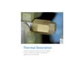 AMA - Thermal Desorption Systems