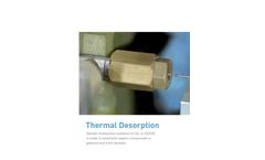 AThermal Desorption Systems Brochure