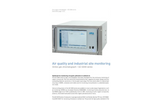 AMA - Model GC 5000 Series - Air Quality and Industrial Site Monitoring System - Brochure