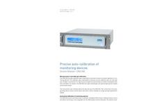 AMA - Model DIM 200 - Precise Auto-calibration of Monitoring Devices - Brochure