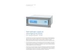 UHP Hydrogen Generator – HG 500 - Brochure
