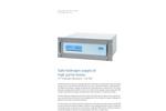 HP Hydrogen Generator – HG 300 - Brochure