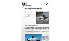 Rotating Bubble Aerator (RBA) Brochure