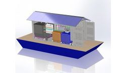 Bever Autarkic - Model AWT - Floating Wastewater Treatment System