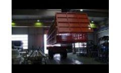 Rigid Dump Trailers for Sugar Cane Transportation. Custom-Made In Germany Video