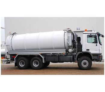 Vacuum Tank Truck-1