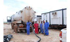 Training at Vacuum Tank Trucks