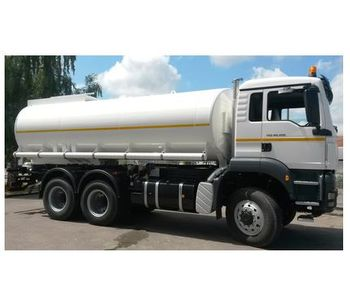 Water Tank Truck and Trailer