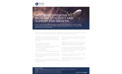 AirTrak - Monitor Airport Greenhouse Gas Emissions Software Brochure