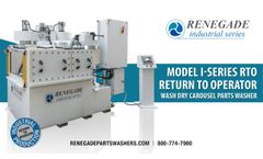 Renegade I-Series Production Cleaning Solutions