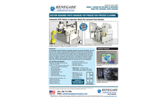 Renegade - Model I-Series RTO - Industrial Front Load Automatic Parts Washers Brochure