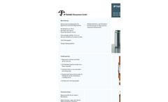3P - Model 2000510 - Copper Downpipe Filter Brochure