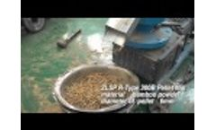 Making Your Own Wood Pellets with GEMCO Pelletizing Machine for Your Home! Video