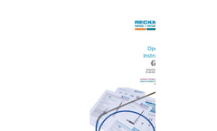 Ex Operating Instructions Sensors with Cable Brochure