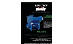 Sani-Tech - Model ST2054/40 - Auger Compactors Brochure