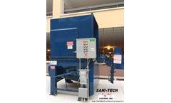 Sani-Tech - Model ST1040/30 - Auger Compactors
