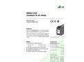 SINEAX U539 Transducer for AC voltage - Data Sheet