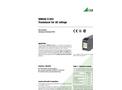 SINEAX U543 Transducer for AC Voltage - Data Sheet
