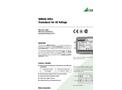 SINEAX U553 Transducer for AC Voltage - Data Sheet