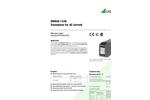 SINEAX - Model I538 - Transducer for AC Current - Datasheet