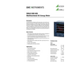 SIRAX BM1450 Multifunctional DC Energy Meter - Data Sheet
