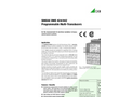 SINEAX DME442 Programmable Multi-Transducer - Data Sheet