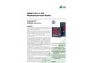 SINEAX A 210 / A 220 Multifunctional Power Monitor - Data Sheet
