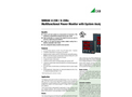 SINEAX A 230 / A 230s Multifunctional Power Monitor with System Analysis - Data Sheet