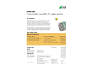 KINAX 2W2 Programmable Transmitter for Angular Position - Data Sheet