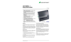 SMARTCONTROL ECS Energy Control System - Technical Data