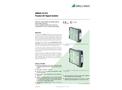 SINEAX SI815-5 Passive DC Signal Isolator - Data Sheet