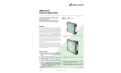SINEAX SI815-5 Passive DC Signal Isolator - Data Sheet