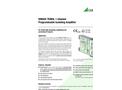 SINEAX TV809, 1 Channel Programmable Isolating Amplifier - Data Sheet